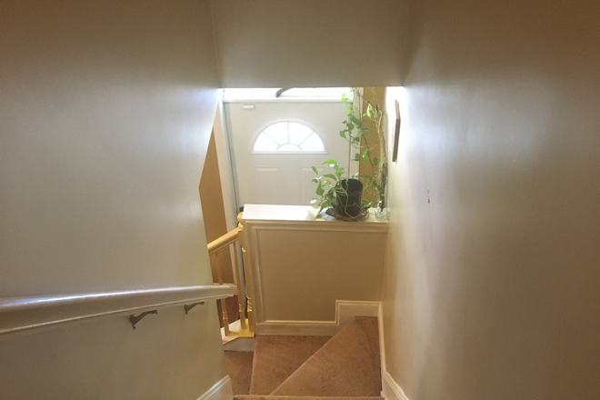 stairwell - Furnished Home, Green Utilities ALL Included Townhome