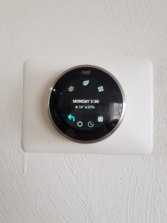 Brand new Nest digital and programmable thermostats with Eco Mode to save you money