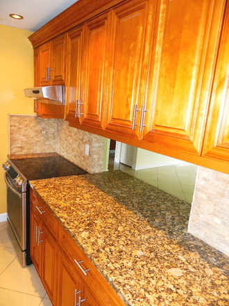 Kitchen- Updated Granite & Cabinets