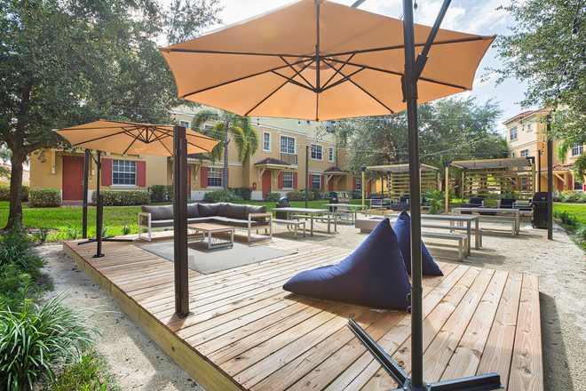 Outdoor Social Patio