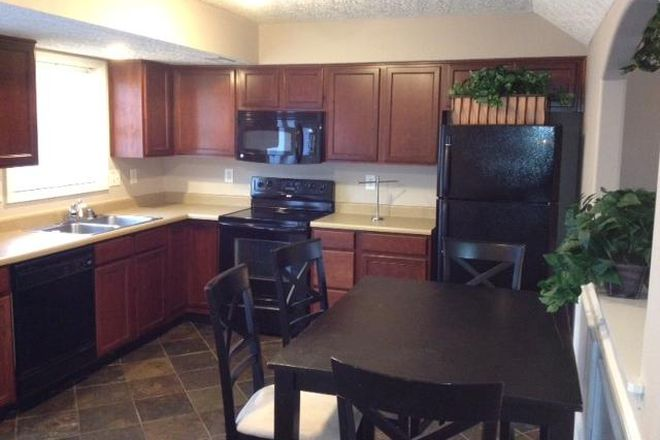 Kitchen - Newer 4 BR homes - 2 1/2 baths - 2 car garage. Perfect location for med & grad students to share! Rental