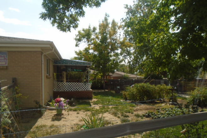 COVERED PATIO & BACKYARD - BEDROOMS FOR RENT NEAR ANSCHUTZ MEDICAL CAMPUS IN STUDENT'S HOUSE ON BARANMOR PKWY $760 Rental