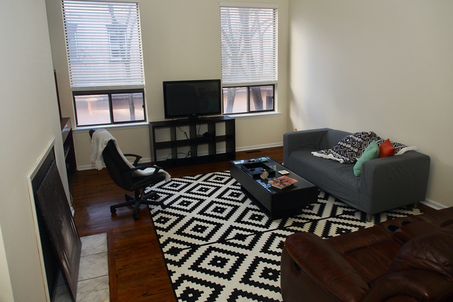 Living Room - Townhouse to Share in Rittenhouse Sq. Area. Currently has one tenant, looking for 2 more tenants