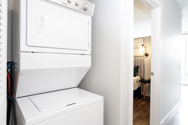 1 Bedroom - Laundry