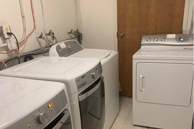 laundry room - 3,900  Entire 4 bedrm 3 bath for rent  Inner Richmond Apartments