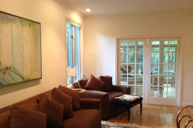 Living Room - JAN - FEB move in!  Walk to Bethesda -2 Prof females to share gorgeous house with 1 other female Rental