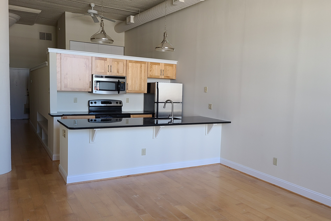 Open kitchen - Locust Point Loft
