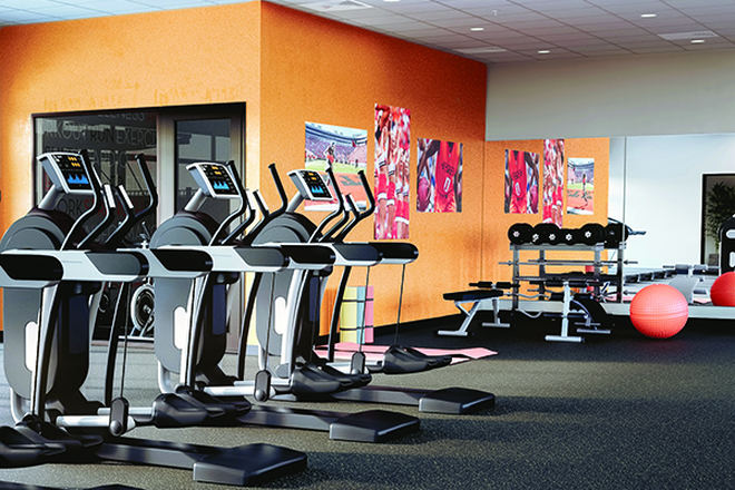 Fitness Center - Midtown Apartments