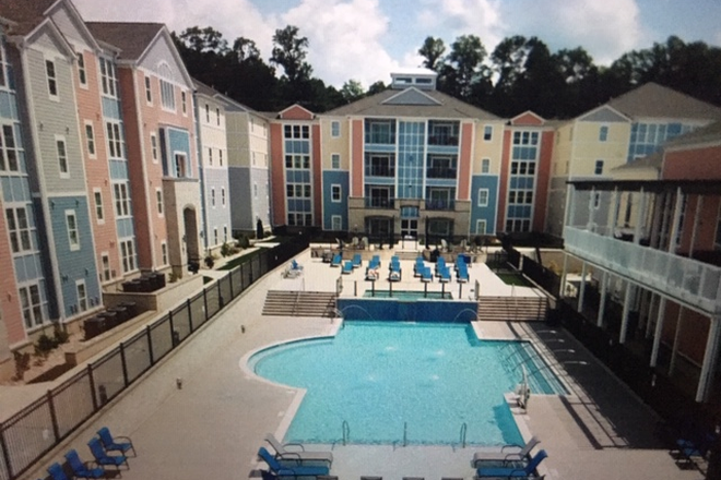 Great Pool - The OASIS Apartments, close to Liberty campus
