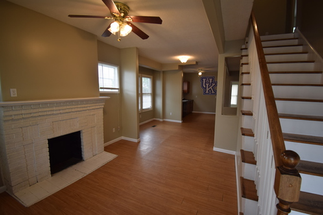 Open living room and kitchen! - 5+ Bedroom Houses on Campus! Rental