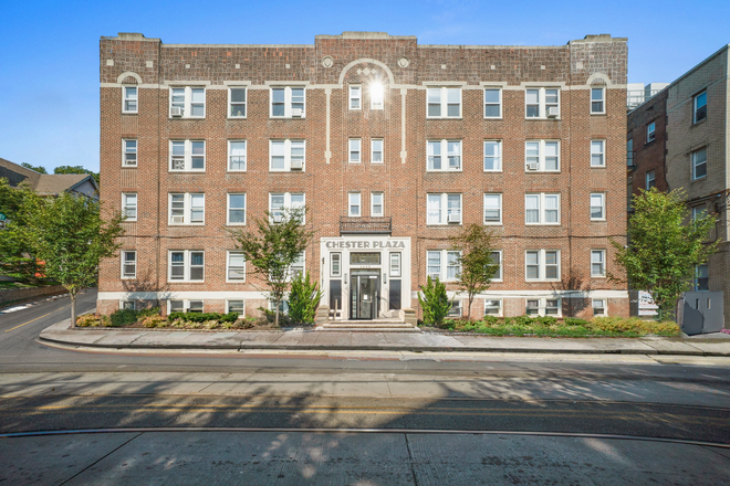 Exterior - Chester Plaza- Renovated Studio and 1 BR Apartments Close to Campuses and Public Transit