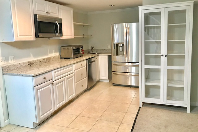 Kitchen - North Arlington Apartment - walk to Marymount